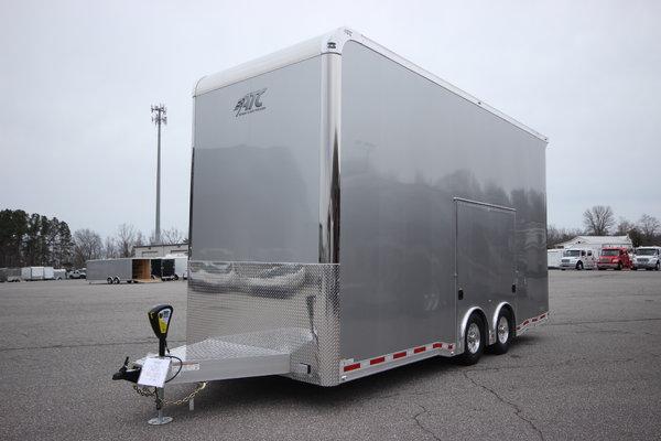 2019 ATC QUEST ST305 22ft Aluminum Stacker Car Trailer