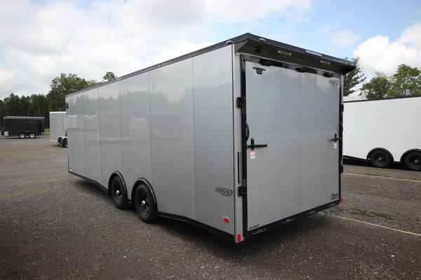 2021 Bravo Scout 24ft. w/5,200lb. Axles Enclosed Car Trailer