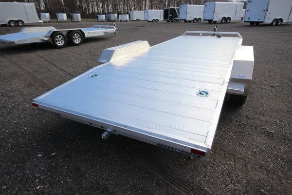 2021 Adam 20ft. Aluminum w/5,200lb. Axles Open Car Trailer