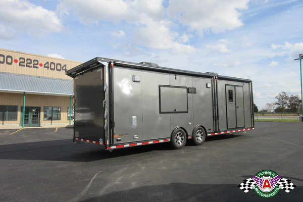 2018 inTech 28' iCon Race Trailer Fully Loaded