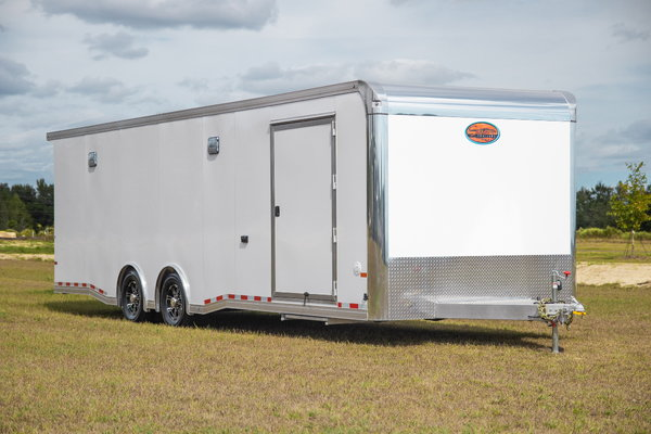 2019 Aluminum Race Trailer 28' - Sundowner
