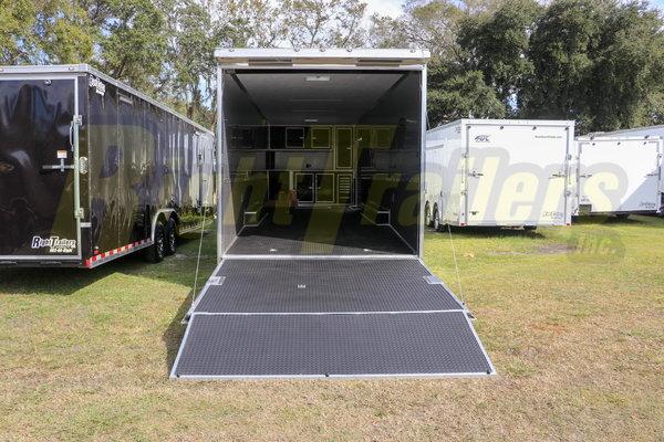 2021 8.5 x 34 Cargo Mate Race Trailer