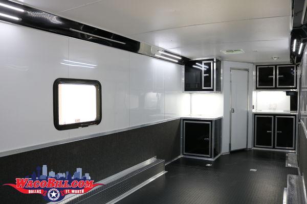26' Bathroom/ Shower Package Race Trailer @ Wacobill.com