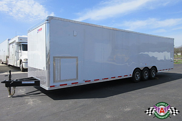 2019 Pace American 32' Cargo Sport Racer's Special