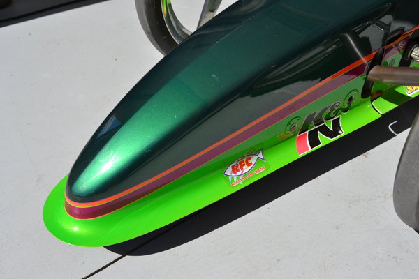 2002 Worthy 4 Link & Front suspended dragster