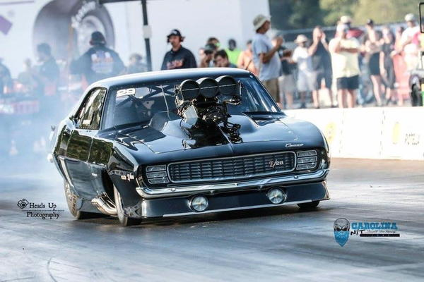 RVW Tim McAmis 69 Blown Camaro