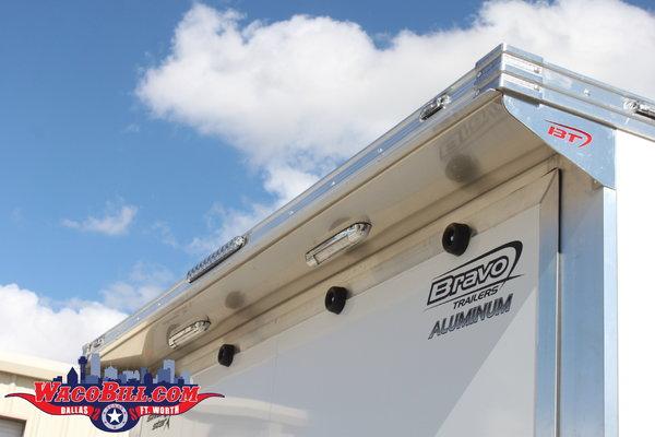 28' Bravo Loaded Escape Door Race Trailer Wacobill.com