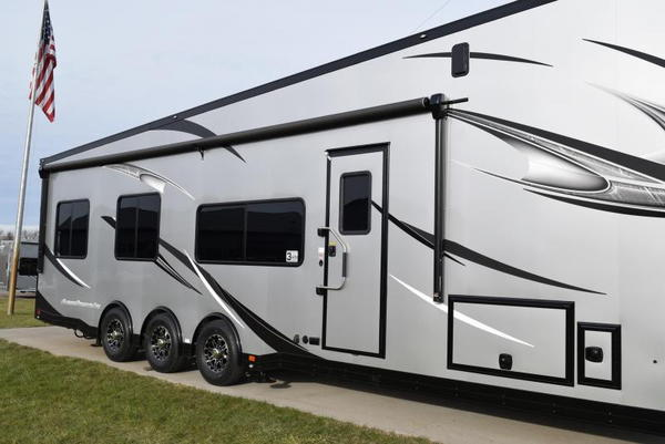2020 ATC 40' ALL ALUMINUM 5TH WHEEL TOY HAULER  for Sale $109,995