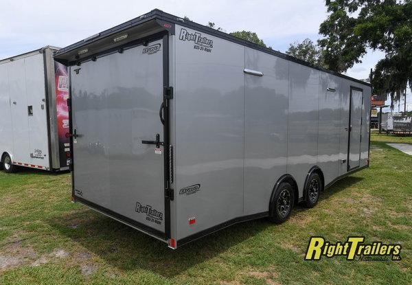 2021 8.5x24 Bravo Race Trailer