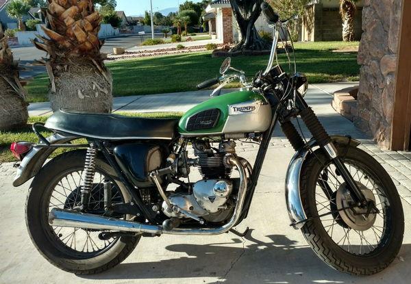 1970 Triumph Trophy  for Sale $3,800