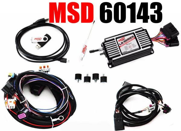 MSD 60143 Black LS Ignition Control Carb Swap LS1 LS2 LS3 LS  for Sale $427