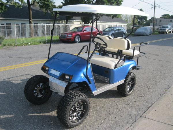 2008 Ezgo Golf Cart 8 U0026quot  Lifted Big Tires Wheels Electric