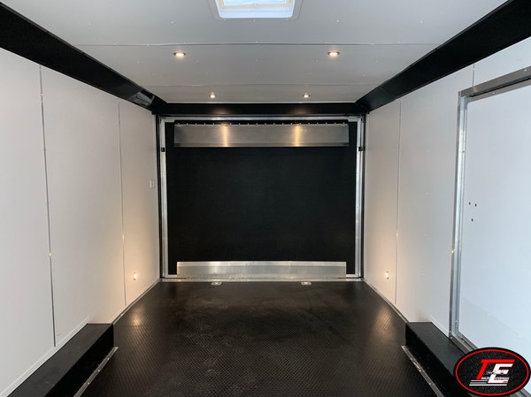 24' United Stage I Race Car Trailer w/ Escape Door  for Sale $14,995
