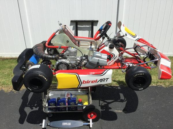 Birel ART 2019 CRY30-S10 KZ & TM Racing KZR1 PREPARED Motor   for Sale $16,000