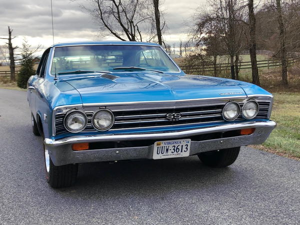 1967 Chevrolet Chevelle  for Sale $41,900