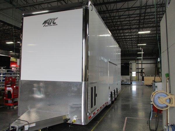 30' ATC Stacker Trailer w/ PED