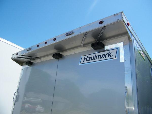 2019 Haulmark HAR 8.5x28 Aluminum Race Trailer