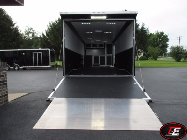 28' United Super Spread Axle Stage III Race Car Trailer  for Sale $22,995
