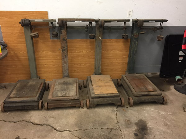Set of grain scales  for Sale $400