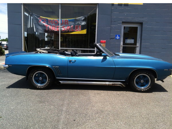 1969 Chevrolet Camaro  for Sale $42,000