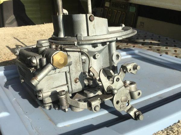 Holly Carburetor (List 4643-1)    for Sale $175
