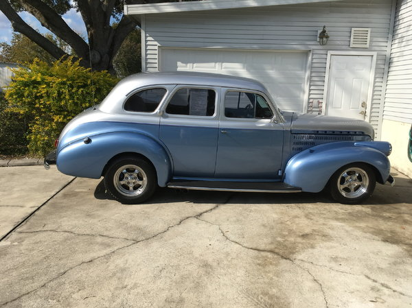 1940 Chevrolet Master 85  for Sale $29,500