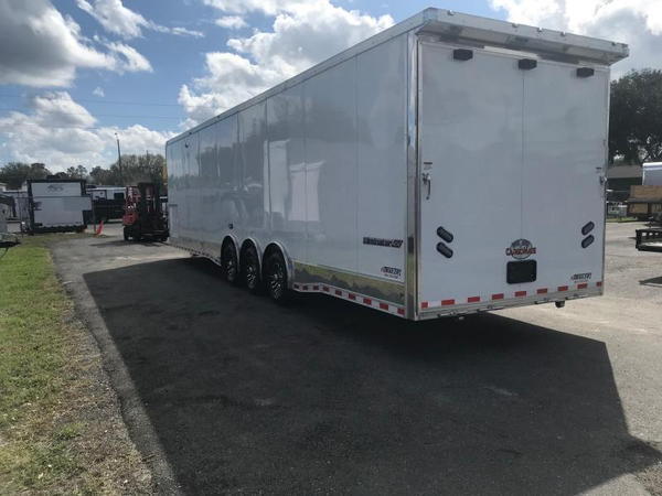 2019 34'  Aluminum Frame LOADED Eliminator Race Trailer by C  for Sale $28,499