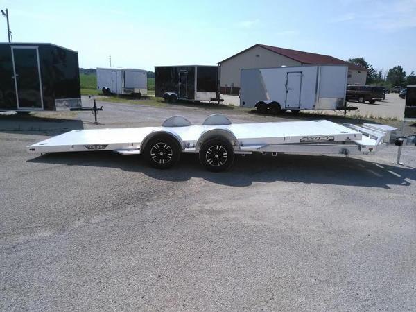 2021 Aluma 8220LP Car / Racing Trailer  for Sale $8,500