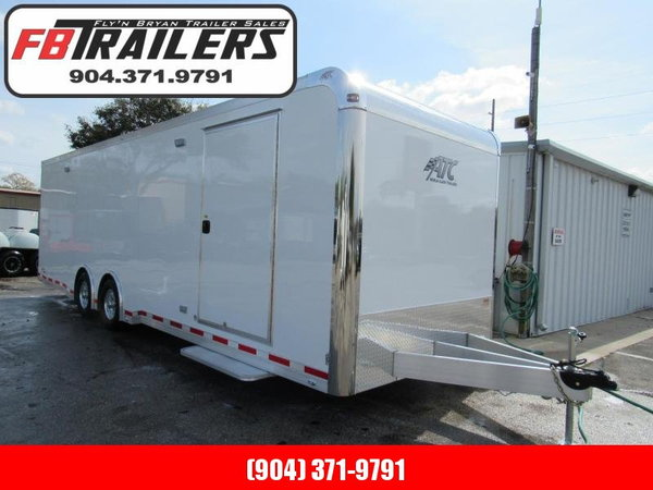 2020 ATC 28' with Premium Escape Door Car / Racing Trailer  for Sale $30,499