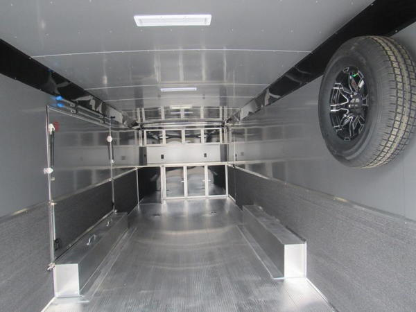 2020 28' All Aluminum Race Trailer with Premium Escape Door  for Sale $29,499