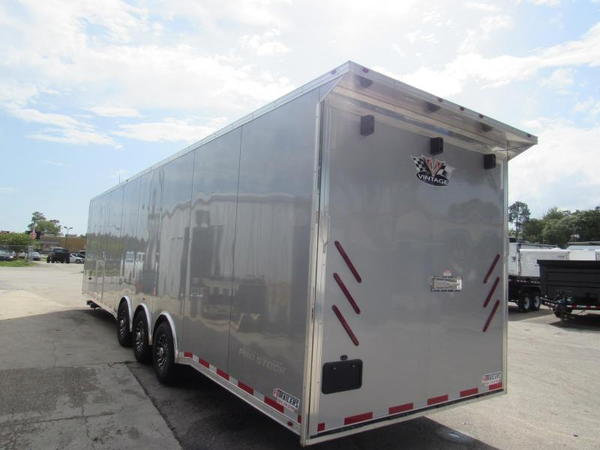 2020 Vintage Trailers 34ft Bath Package Car / Racing Trailer  for Sale $35,999