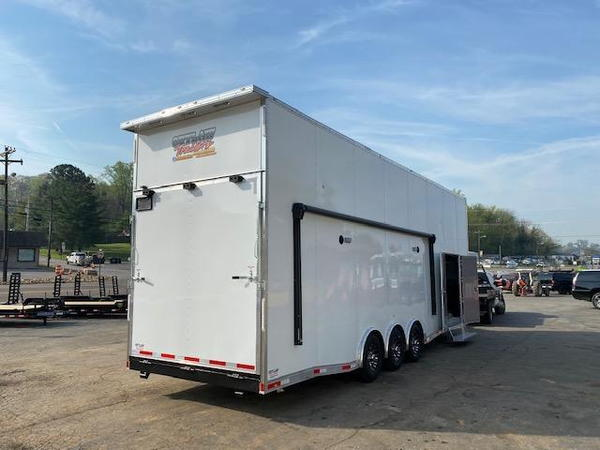 2021 Outlaw Trailers 8.5' X 32' STACKER W/ 26' Dragster Lift  for Sale $63,995