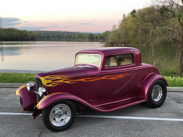 1932 Ford 3 Window Coupe for sale in Roselle, IL, Price: $54,900