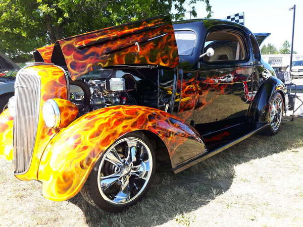 1936 Chevrolet 5 Window Coupe Street Rod for sale in Vancouver, , Price:  $50,000