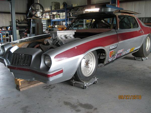74 CAMARO OLD PRO CAR-Lenco BB