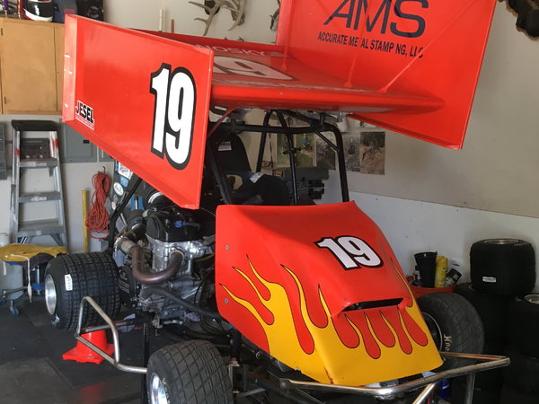 Open outlaw kart with trailer and 4 wheeler  for Sale $11,500