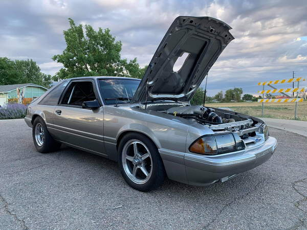 Pro Street 1987 Mustang LX  for Sale $50,000