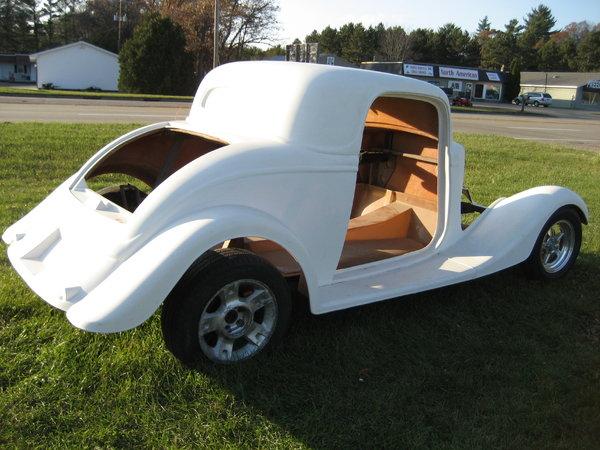 1934 Ford 3 Window Coupe Street Beast Kit Car