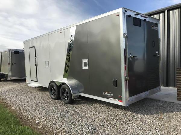 2019 Legend Manufacturing 7X27 EXPLORER EXTRA HEIGHT Snowmob