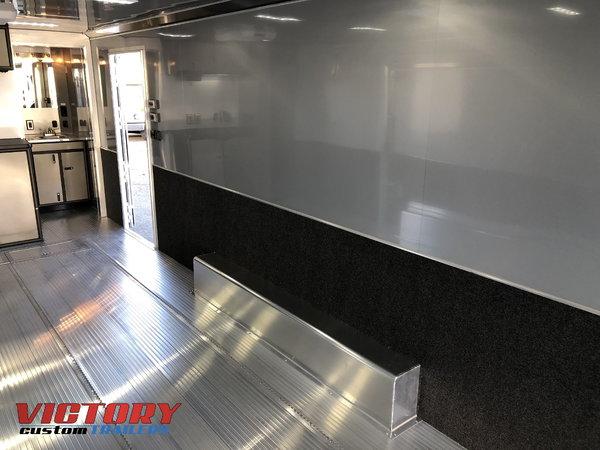 2019 InTech 28' Aluminum Bathroom Trailer with Escape Door
