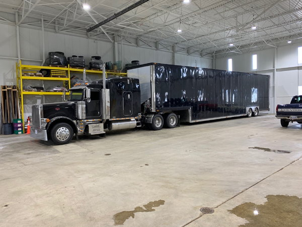 2000 Kentucky 5 to 6 Car Hauler with Awning  for Sale $68,500