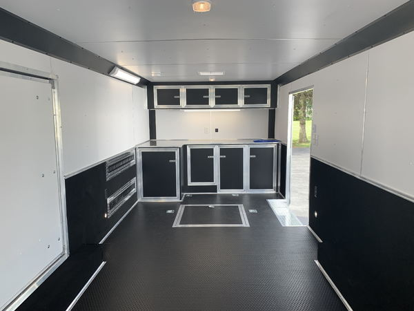 24' United Stage II Race Car Trailer w/ Escape Door  for Sale $16,995