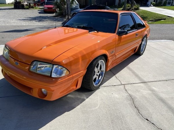 1991 Mustang GT  for Sale $34,000