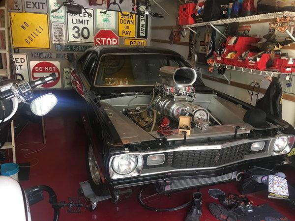 Blown hemi duster street driven  for Sale $45,000