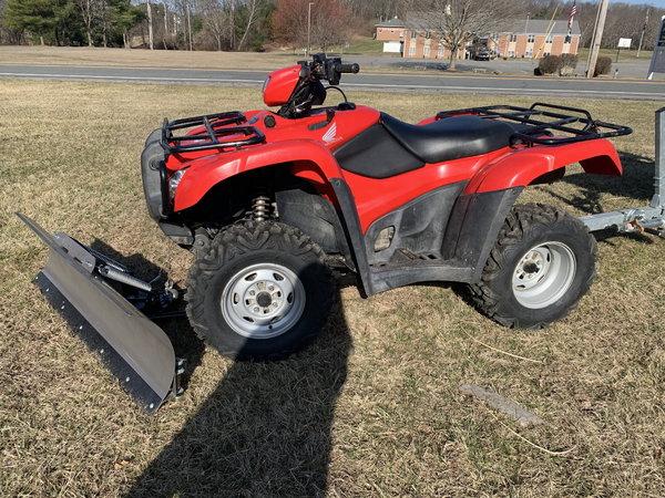 13 Honda TRX500 w/PowerPlow