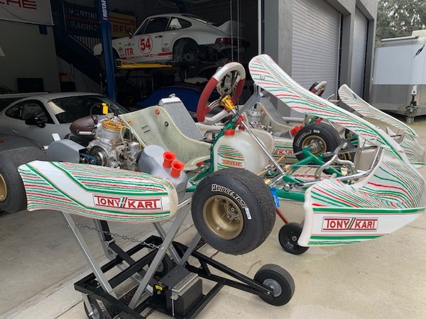 TWO Tony Karts  for Sale $9,000