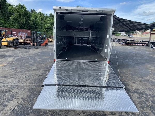 NEW 2019 32' OUTLAW RACE TRAILER- TRIPLE SPREAD AXLE  for Sale $27,995