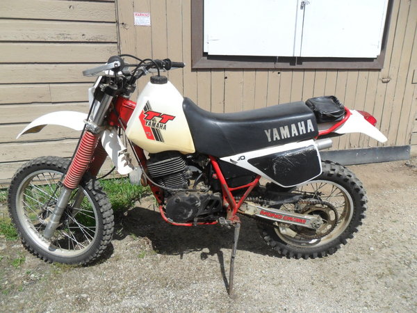 1983 yamaha tt 600cc   for Sale $2,500