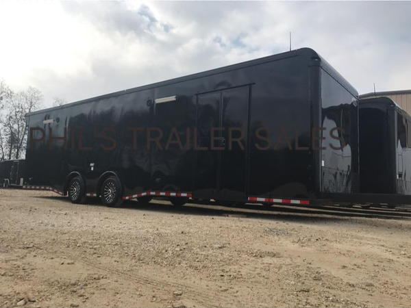 32' LOADED CONTINENTAL CARGO RACE TRAILER EXTRA HT ALL 12V L  for Sale $22,500