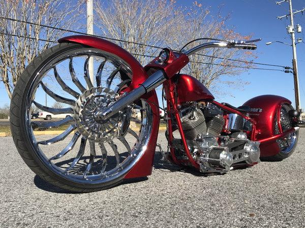 2000 harley davidson softail custom show bike
